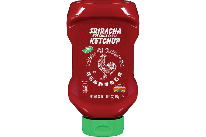 HUYYW2R_HuyFong_KetchupSriracha_Bottle_20oz_Foodservice